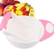 Manual Baby Food Supplement Grinding Bowl Child Holding Fine Rod