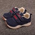Кролик Девочка мальчик Обувь Детей Кроссовки Кожаные Спортивные Детская Обувь Осень ребенка Малыша Обувь Первые Ходоки Детская Обувь