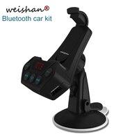 Weishan 새로운 블루투스 FM 송신기 핸즈프리 자동차 키트 자동차 MP3 플레이어
