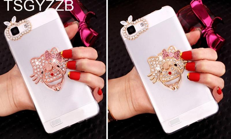 Luxury Love Heart Shining Powder Phone Cases