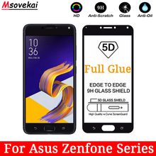 Full Glue Tempered Glass For Asus Zenfone 5z ZS620KL ZE620KL Max M1 ZB556KL Live L1 ZA550KL G552KL 5D 6D Screen Protector Film