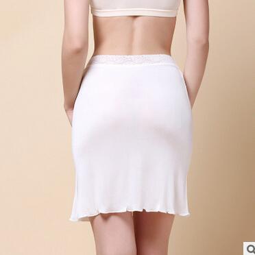 HOT women 100% silk half slips 2016 summer soft underdress ladies bottoming slips M-XXL