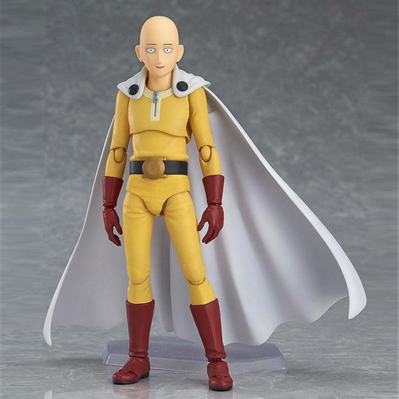 Anime Saitama One Punch Man Figma 310 PVC Action Figure Collectible Model Toys