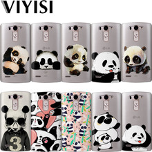 VIYISI For LG G4 G5 G6 Phone Case Panda Animals Coque X Power 2 Q6 Q8 K7 K8 K10 2017 Soft Silicone TPU Shell Cover Etui Fundas