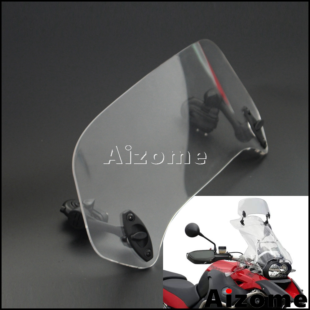 Universal Adjustable Windscreen Extension Spoiler Windshield For BMW R1200GS F700GS F800GS S1000RR F750GS G650GS F800GT R1200R SUniversal Adjustable Windscreen Extension Spoiler Windshield For BMW R1200GS F700GS F800GS S1000RR F750GS G650GS F800GT R1200R S