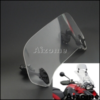 Universal Adjustable Windscreen Extension Spoiler Windshield For BMW R1200GS F700GS F800GS S1000RR F750GS G650GS F800GT R1200R S