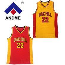 8915766f4d94 Throwback Basketball Jerseys 22 Carmelo Anthony Oak Hill High School Yellow  Basketball Jersey Free Shipping(