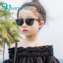 IVSTA moda niñas niños adulto tamaño gafas de sol de los niños bebé lindo  sol-shading Pink Cat Eye UV400 espejo mujeres entre pa. 0ada471f66a4