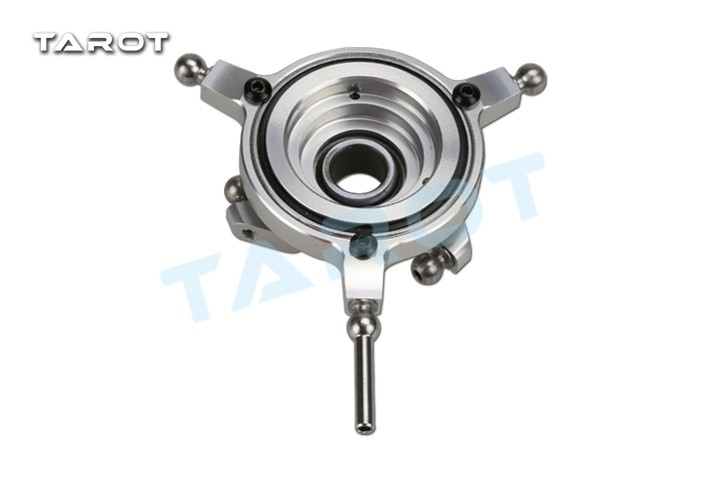 Tarot TL380A12 380 Three Paddle Rotor Head Cross Plate Mount Metal for Helicopter Aircraft RC Spare Parts F20756 tarot 450v3 metal head rotor tl2413 tarot 450 rc helicopter spare parts freetrack shipping