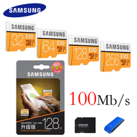 SAMSUNG Micro SD Card 32GB 64GB 128GB 256GB 100M S Class10 UHS 1 Flash Memory Card