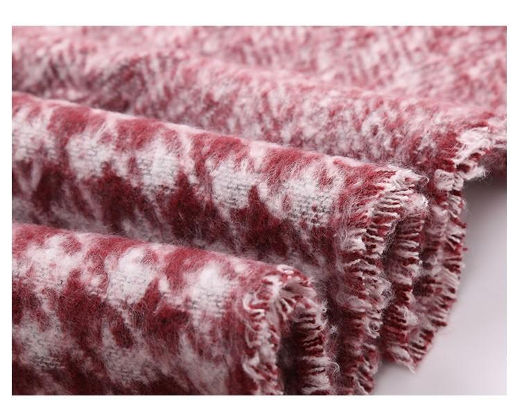 Houndstooth Dual Winter Scarves | Blanket Scarves