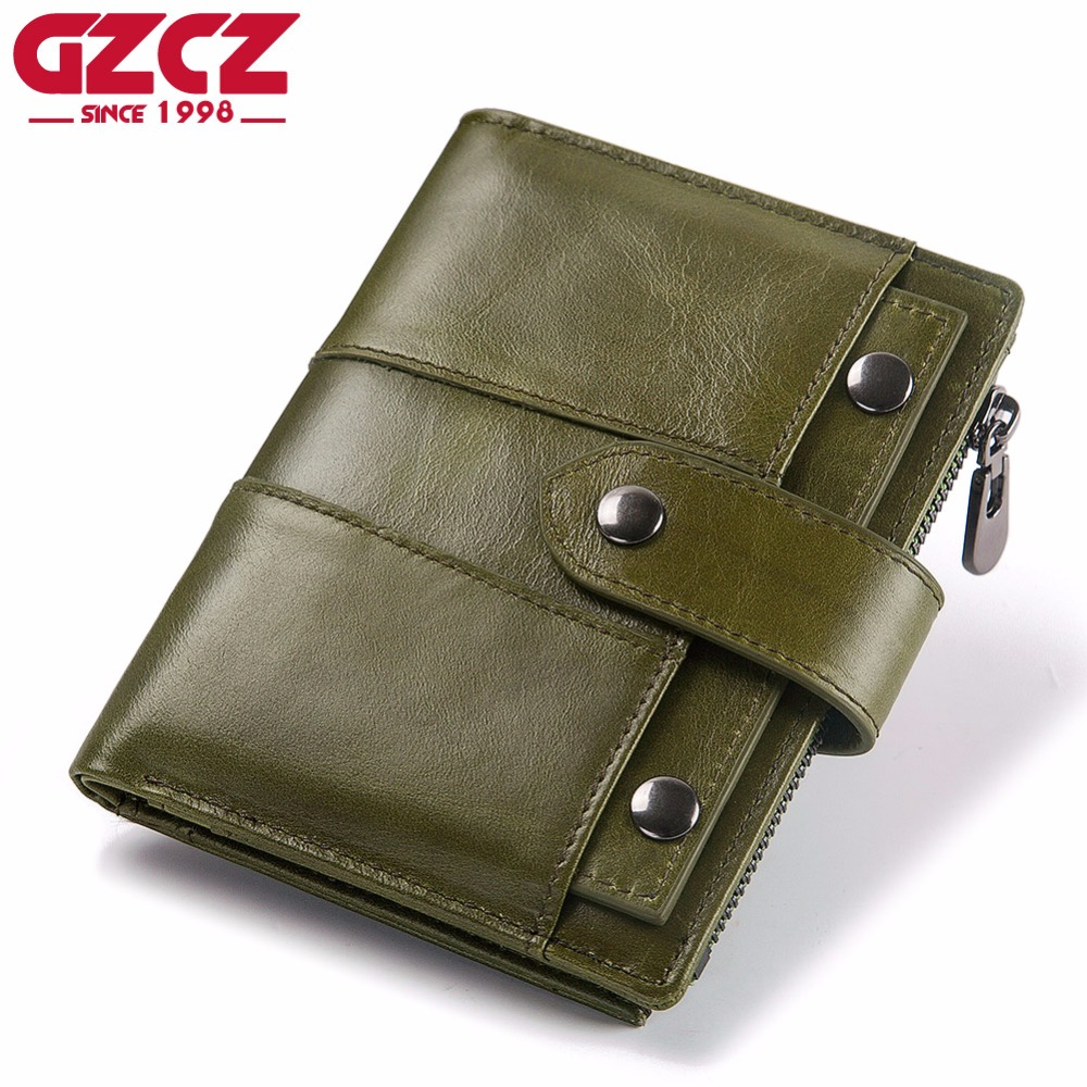 GZCZ New Genuine Leather Wallet Female Fashion Coin Purse Female Small Wallet Zipper&Hasp Purse Women Clamp For Money Money Bag free shipping original motherboard for asus f1a55 v plus socket fm1 ddr3 boards a55 desktop motherboard