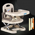 0-4 years old Folding Baby Feeding Chair Super Light Baby High Chair Portable Plastic Tables Seat Baby Dining Chair C01
