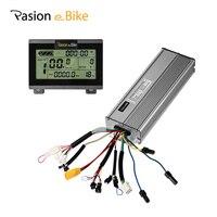 Pasion e Bike велосипед 45A Контроллер 48 В 18 MOSFET бесщеточный с ЖК дисплей Дисплей 1500 Вт 2000 Вт DC синусоида Электро мопеды контроллер Электрический ве