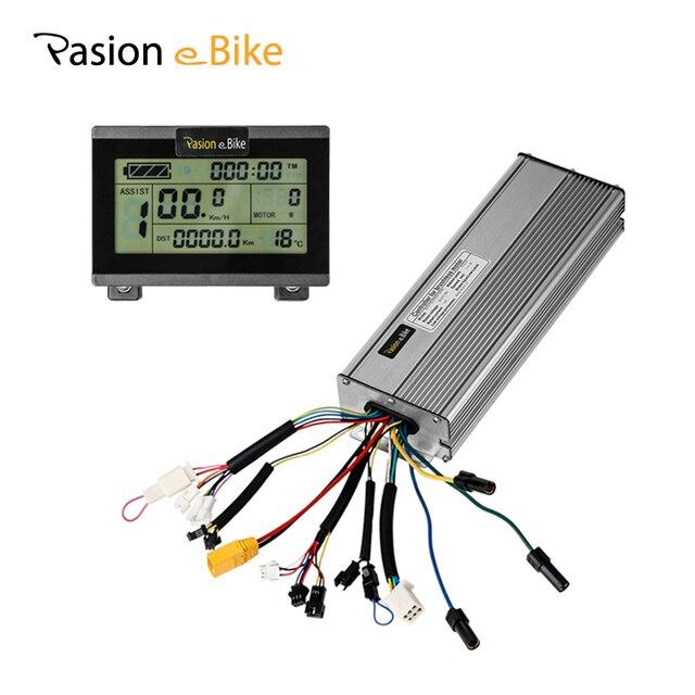 Pasion e Bike велосипед 45A Контроллер 48 В 18 MOSFET бесщеточный с ЖК-дисплей Дисплей 1500 Вт 2000 Вт DC синусоида Электро-мопеды контроллер Электрический велосипедный контроллер ЖК-телевизор с электроприводом