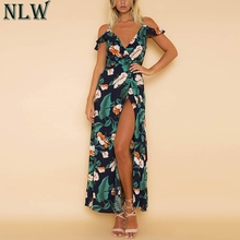0630746b45d5f Buy cold shoulder maxi dresses and get free shipping on AliExpress.com