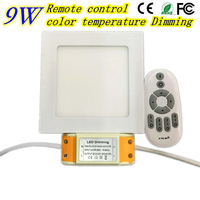 Dimmable Led 2 4G Remote Control Panel Light SMD 2835 9W AC85 265V Led Indoor Ceiling