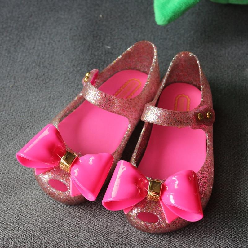 Mini Melissa 2018 Mickey Minnie kids Jelly Shoes Girls Boys Sandals Soft Comfort