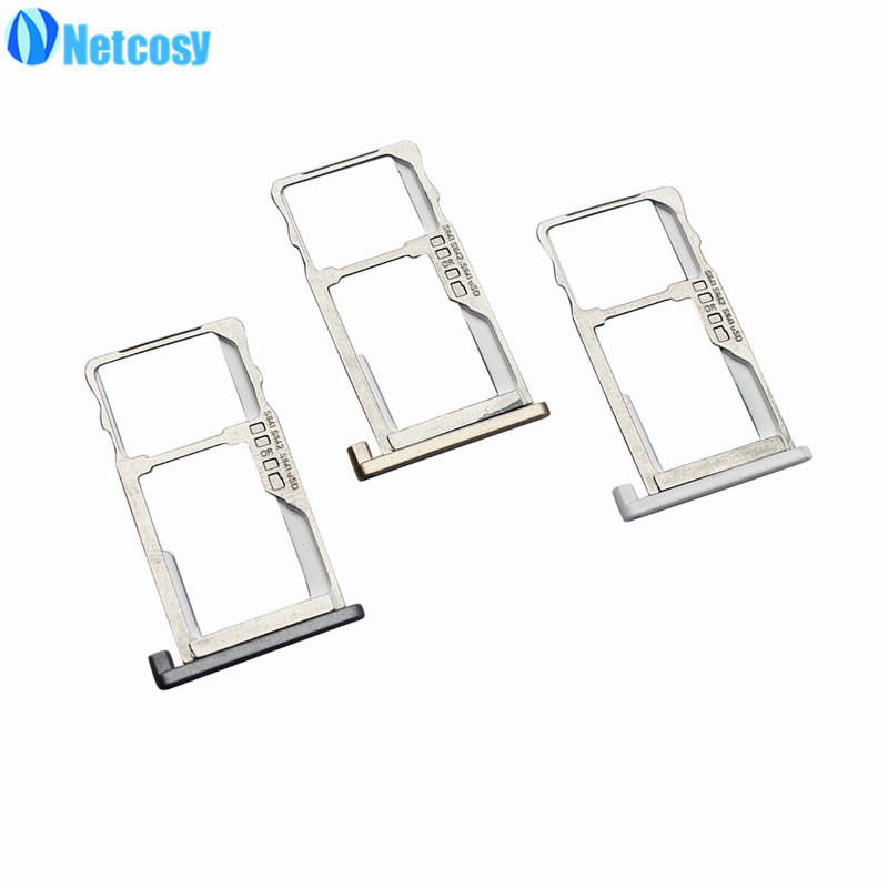 Netcosy SIM Card Tray Slot Holder Adapters for MeiLan 3 Replacement Parts Repair High Quality Cheap Accessories