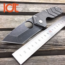LDT Medford Starship Tactical Folding Blade Knives 8Cr13Mov Blade Steel Handle Hunting Knife Camping Survival Outdoor OEM Tools
