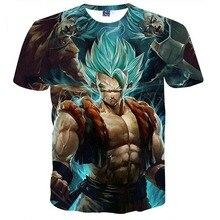Dragon Ball Z Men's 3D Printing T-shirt