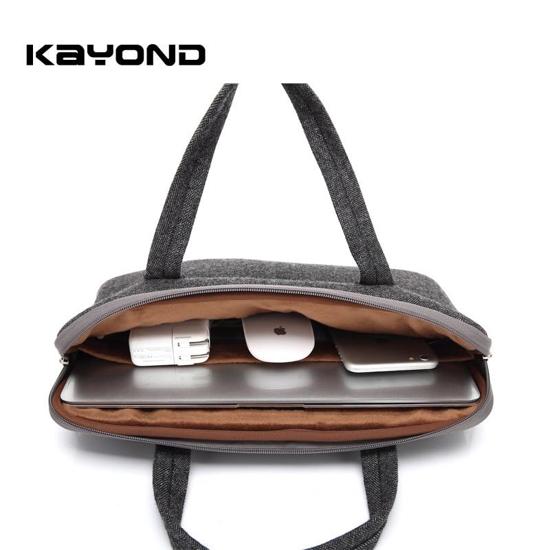 Kayond Nylon Business Laptop Sleeve Bag Bolso a prueba de arañazos - Accesorios para laptop - foto 4