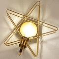 Скандинавские креативные Настенные светильники для гостиной  простые macarons  прикроватные светильники для спальни  современные настенные св...