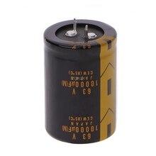 Condensador electrolítico de Audio, 10000uF, 63V, 36x52mm, venta al por mayor y envío directo, 1 ud.