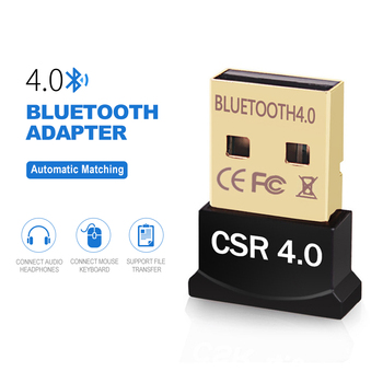 Mini USB Bluetooth Adapter 4.0 Computer Wireless Bluetooth Dongle Dual Mode Music Sound Receiver Adapter Bluetooth Transmitter
