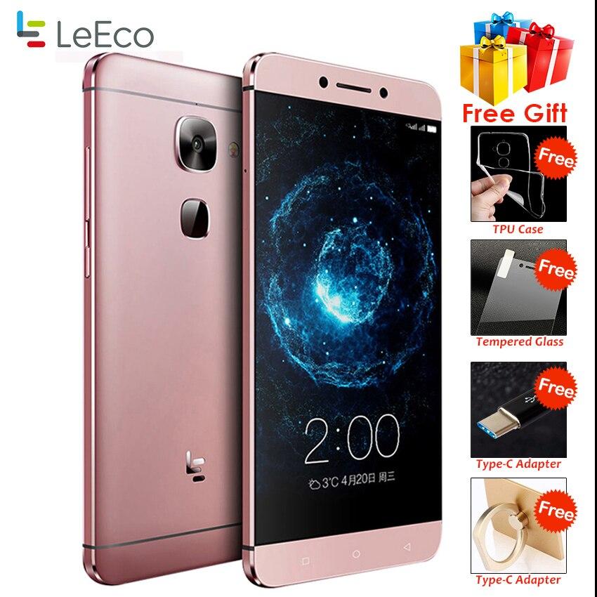 "Original Letv LeEco Le 2 Pro X625 Pro MTk Helio X20 Deca Core Mobile Phone 5.5"" 21.0MP 4G RAM 32G ROM Fingerprint ID Smartphone"