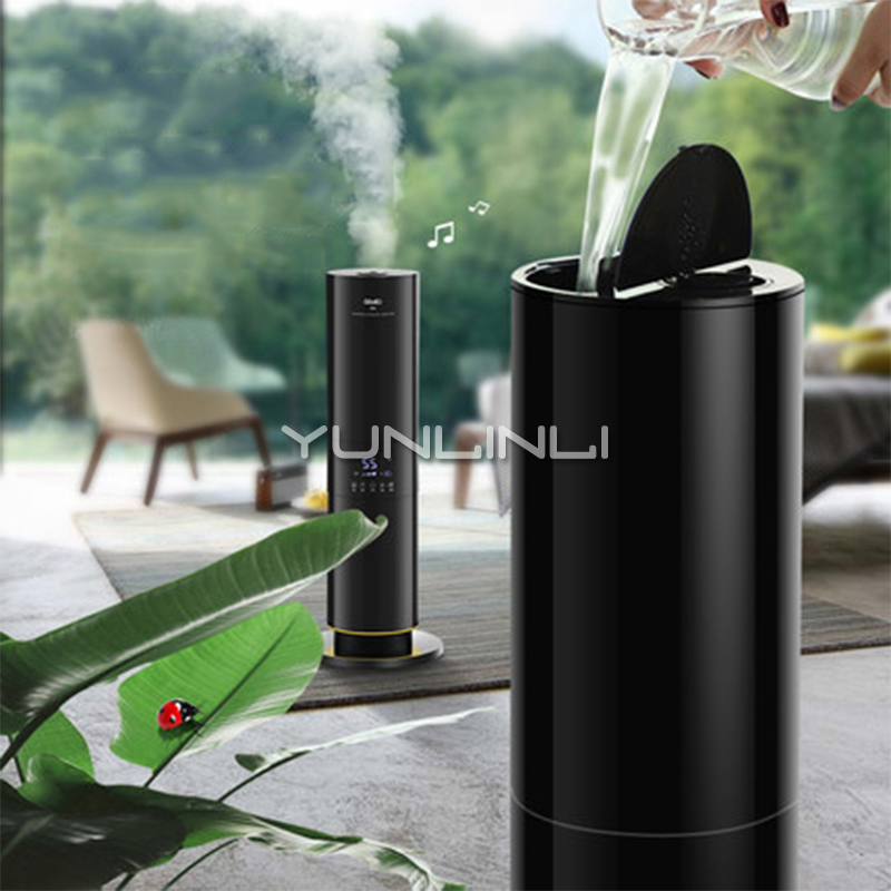 5.5L Air Humidifier Essential Oil Diffuser Household Aromatherapy Diffuser Anion Floor Humidifier GL-1701 цена и фото