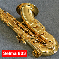 France Professional Saxophone Selma STS 803 Sax Tenor Bb flat Gold Key Saxofone Musical Instruments performances Free Shipping