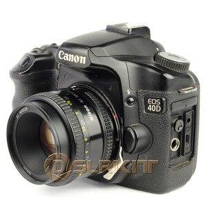 Image 5 - 니콘 g AF S ai f 렌즈 및 캐논 eos ef 마운트 어댑터 650d 600d 550d 1100d 60d 7d 5d 용 렌즈 어댑터 링
