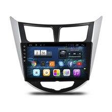 """10.1 """"Android 4.2.2 стерео аудио Авторадио автомагнитол головного устройства для Hyundai Verna Accent Solaris WI-FI DVR bluetooth гарнитуры"""