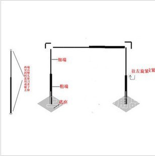 4M *4M Wedding Stainless Steel Pipe Wedding Backdrop Stand with expandable Rods Backdrop Frame Wedding supply