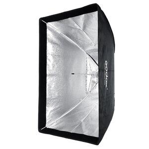 Image 4 - Godox SB UE 80x120 cm/31 * 47 Retangular Portátil Guarda chuva Softbox com Bowens Monte Carry saco para Flash de Estúdio