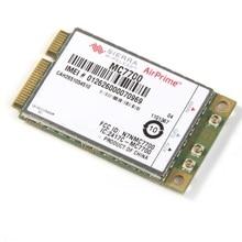 Mini PCI E 3G/4G WWAN GPS modülü Sierra MC7700 PCI Express 3G HSPA LTE 100MBP kablosuz WWAN WLAN kart GPS Unlocked ücretsiz kargo