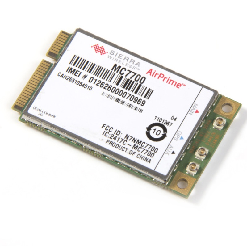 Mini PCI-E 3G/4G WWAN GPS Module Sierra MC7700 PCI Express 3G HSPA LTE 100MBP Wireless WWAN WLAN Card GPS Unlocked Free Shipping