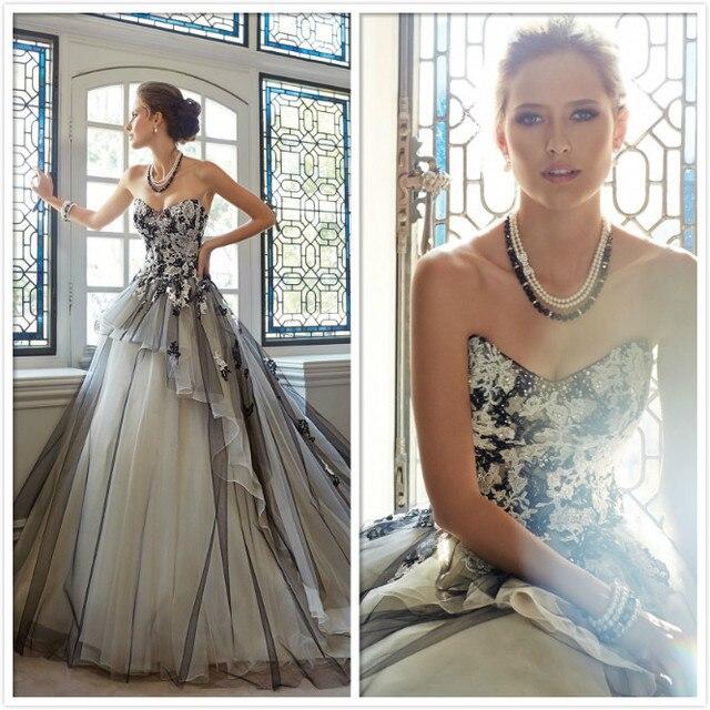 Gelinlik 2017 Sıcak Satış Sweetangel Boncuklu Bir Çizgi Dantel Gelinlik Vestido De Noiva Robe De Mariage Gelin Elbise