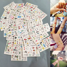 Cartoon Temporary Tattoo Sheets