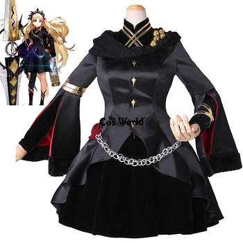 68dabe669fb89 FGO Kader büyük Sipariş Ereshkigal Ceket Elbise Üniforma Kıyafet Anime  Cosplay Kostümleri