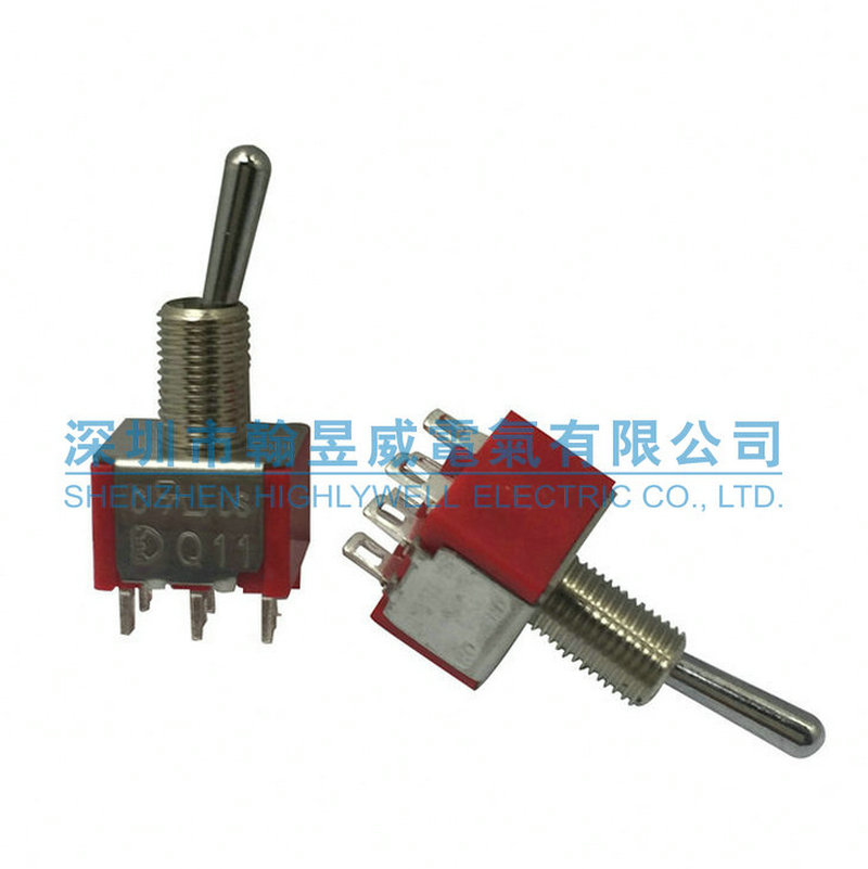 Original new 100% import Q11 double pole single throw 6pin 2gear ...