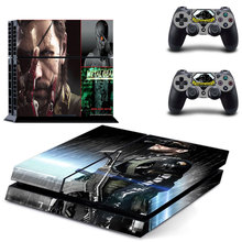 METAL GEAR decal PS4 Skin Sticker For Sony Playstation 4 Console +2Pcs Controllers 6 patterns