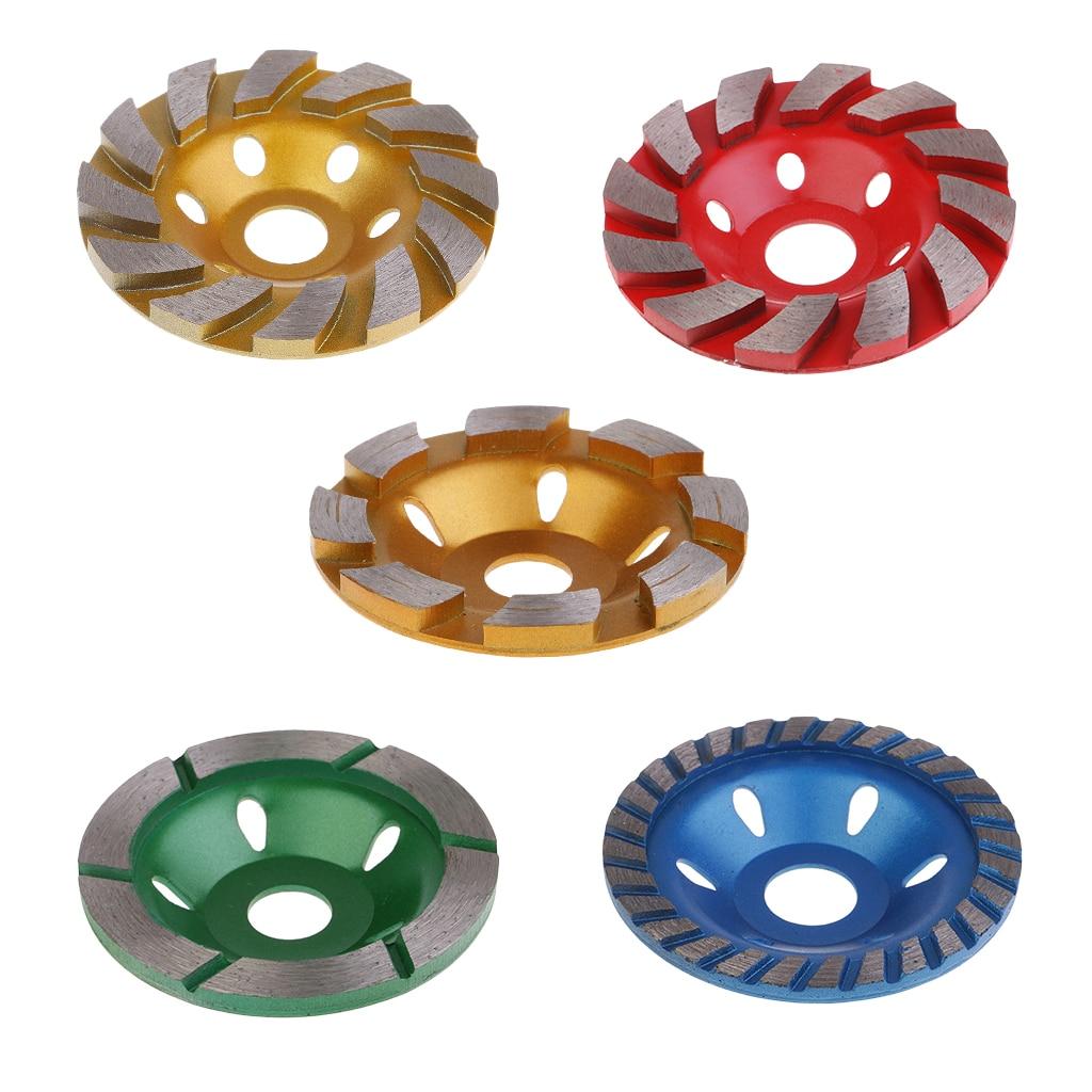 100mm Diamond Segment Grinding Wheel Disc Grinder Cup Concrete Masonry Cut Tools