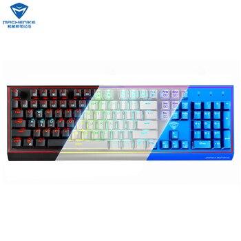 Machenike mechanical keyboard eSports Accessories Computers & Accessories Keyboards Laptop Accessories color: BLACK|Blue|WHITE