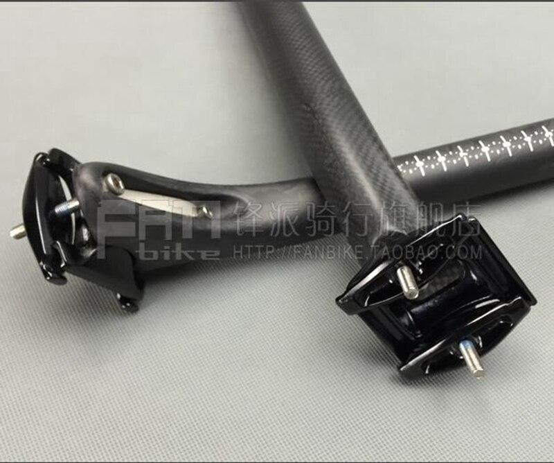 Naujas visiškai anglies pluošto dviračio sėdynės atramos vamzdis - Dviratis - Nuotrauka 5