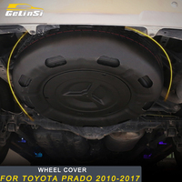 Gelinsi для Toyota Prado 2010 2019 автостайлинг багажник запасное колесо чехол внешние аксессуары