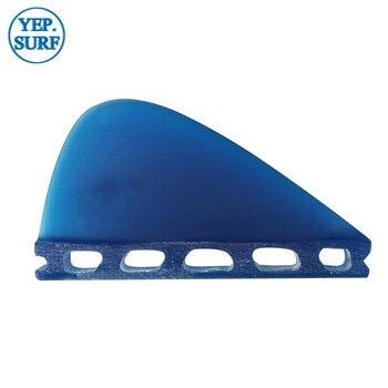 Future VS Knubster Center Keel Set Fin X Small SUP Surf Paddling  Kneel Fibreglass Blue color