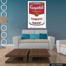 Vanquish Andy Warhol Campbells sopa i tomato impresión del arte pop pared  pintura cuadro hogar abstracto arte decorativo 5107873. e8423046413f