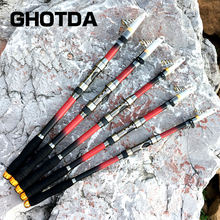 Fishing Rod Superhard 2.1 2.4 2.7 3.0 3.6m Telescopic Fishing Pole Carp Feeder Rod Surf Spinning Rod Lure Fishing